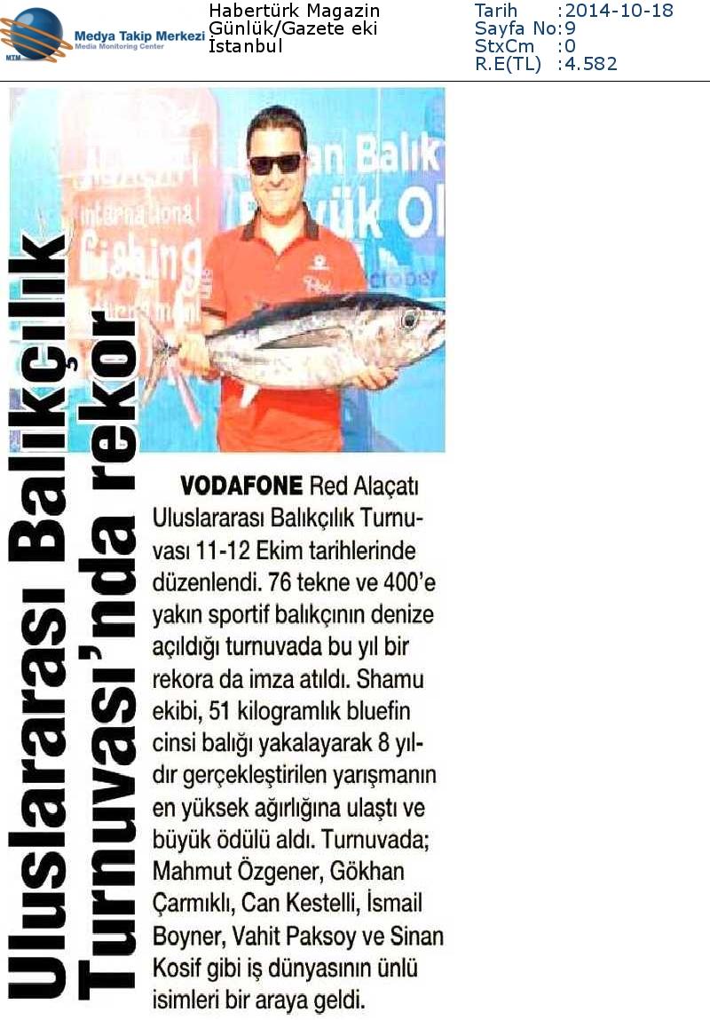 4814_6991_6967-Haberturk_Magazin-ULUSLARARASI_BALIKCILIK_TURNUVASINDA_REKOR-18.10.2014